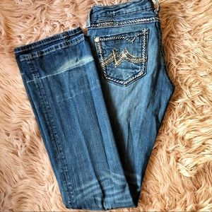 MissMe Boot Cut Jeans Size 28